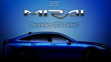 Toyota Mirai. Version De Production Rendue Publique En Décembre