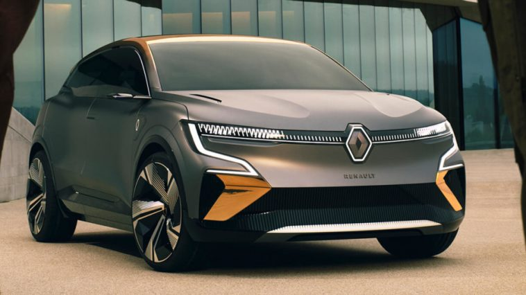 Megane Evision. Un Crossover électrique Pour Succéder à La Renault