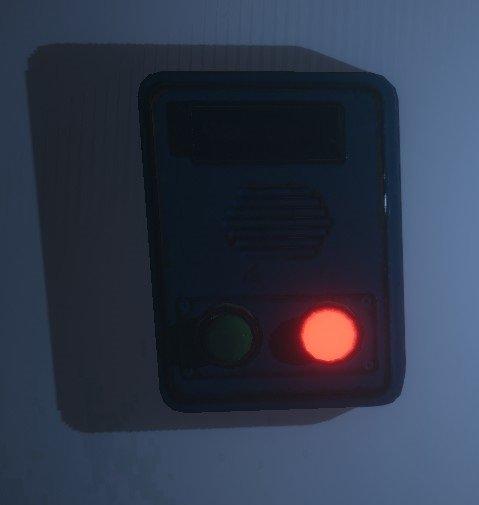 Une capture d'écran du capteur de mouvement en phase de phasmophobie