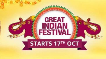 La Vente Amazon Great Indian Festival Est Maintenant En Ligne: