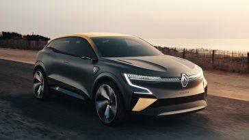 Renault Mégane eVision dévoile l'avenir électrique du constructeur français avec sa plateforme électrique CMF-EV