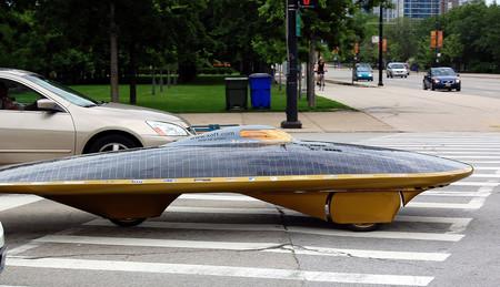 Voiture solaire autonome