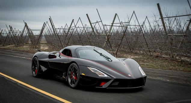 Plus Rapide Que Bugatti Et Koenigsegg. Le Ssc Tuarara établit