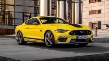 Confirmé. Ford Mustang Mach 1 Arrive En Europe, Mais Perd