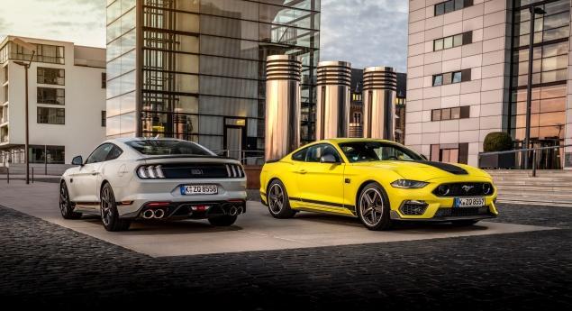 Ford Mustang Mach 1 Arrive En Europe, Mais Perd De