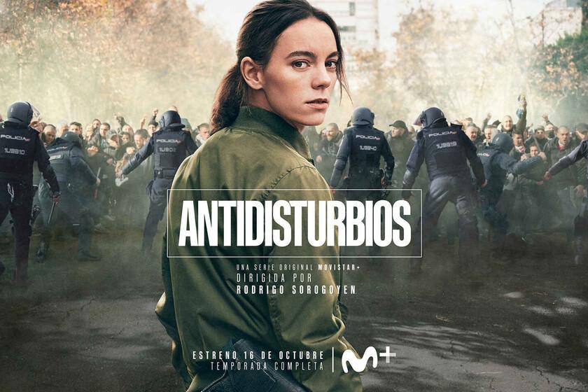 `` Anti-Riot '' est le thriller de l'année: la série Movistar + dilapide l'intensité des quatre côtés