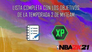 Nba 2k21 Myteam: Liste Complète Des Objectifs Du Season Pass
