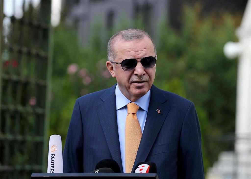 Erdogan Accuse La Russie, Les États Unis Et La France De
