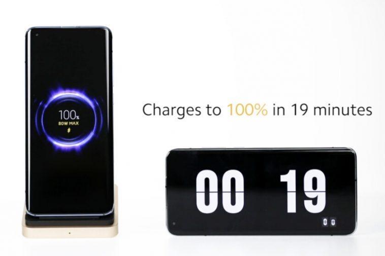 """Xiaomi présente un système de charge rapide sans fil de 80 W qui """"assure une charge à 100% en 19 minutes"""""""