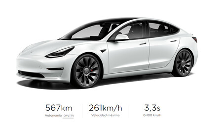 Performance de la Tesla Model 3