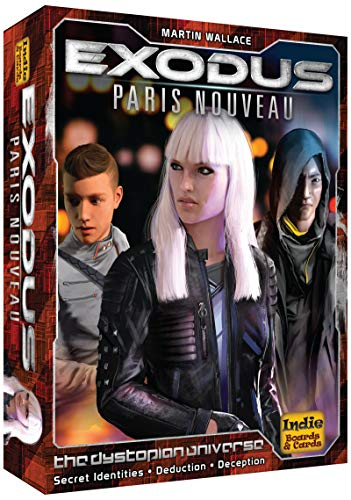 Indépendant Jeux de société et de cartes IBG0EXD1 Exodus Paris Nouveau, Multicolor
