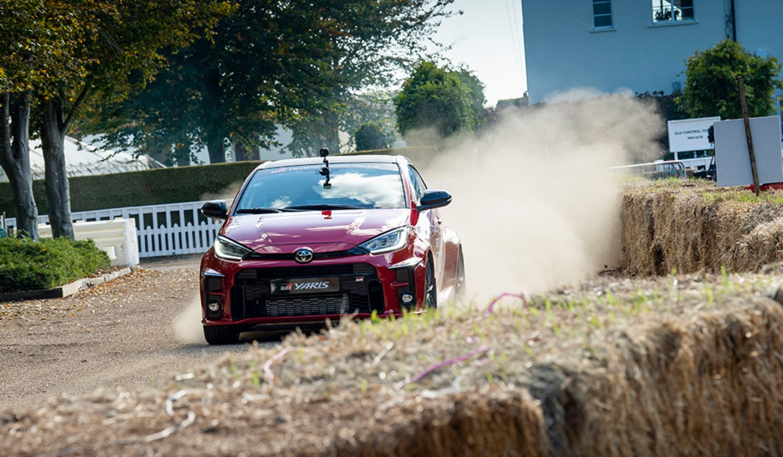 Toyota GR Yaris au Goodwood Festival