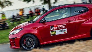 Toyota Gr Yaris. Goodwood Fait Ses Débuts Parmi Les Stars