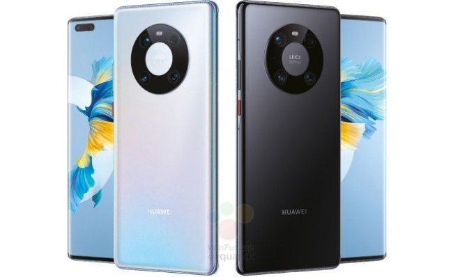 Rendu Huawei Mate 40 Pro.  Image: WinFuture