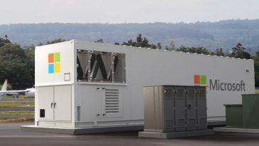 Il s'agit du nouveau centre de données modulaire et portable de Microsoft: il se connecte directement aux satellites Starlink de SpaceX