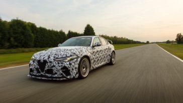 Alfa Romeo. Les Pilotes De Formule 1 Testent La Giulia