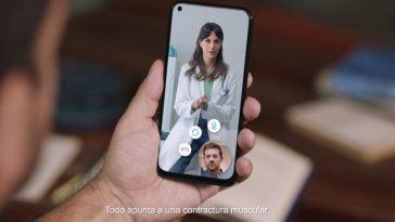 La nouveauté de Movistar est un service de santé Internet: la télémédecine pour clients et non-clients à partir de 6,95 euros par mois