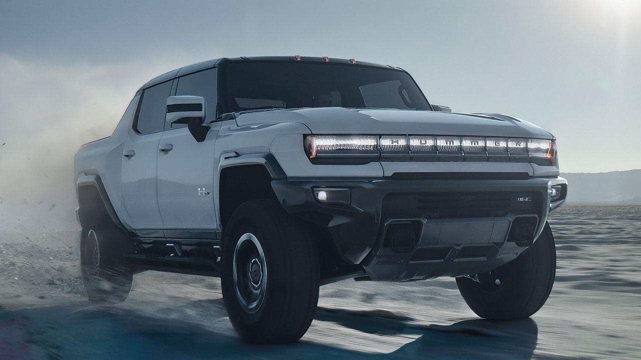 Le Nouveau Hummer Ev, Prétendu être Le Premier Super Camion électrique