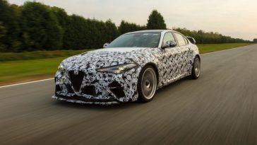 Savez Vous Qui A Déjà Testé Les Nouvelles Alfa Romeo Giulia
