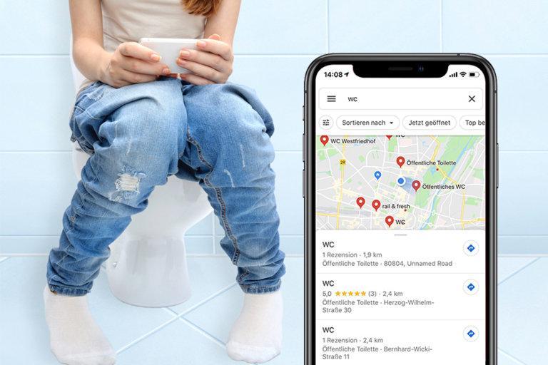 Curieux Widget Iphone Corona: Pas De Papier Toilette, Pas De
