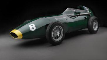 Voulez Vous Une Voiture De Formule 1 Des Années 1950? Vanwall