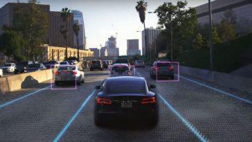 Pour L'instant, En Version Beta. Tesla Propose Une Conduite 100%