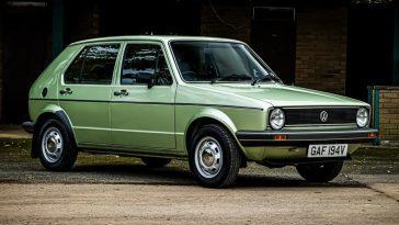 Comme Neuf. Cette Volkswagen Golf Diesel 1980 Est à La