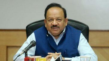 Les États Consultent Le Ministre De L'union Harsh Vardhan Pour