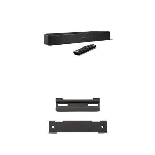 Bose® Solo 5 - Barre de son pour téléviseurs, noir + Bose WB-120 - Support mural pour barre de son, noir