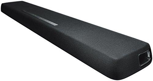 """Yamaha YAS-107 Haut-parleur de barre de son noir sans fil 120 W - Barre de son (120 W, DTS Digital Surround, Dolby Digital, Dolby Pro Logic II, 120 W, 2,54 cm (1 """"), 2,54 cm, 5,39 cm ), intelligent."""