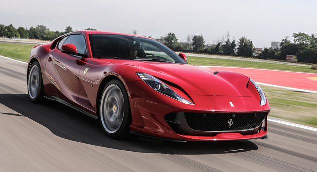 Ferrari Appelle Le 812 Superfast Aux Ateliers En Raison De