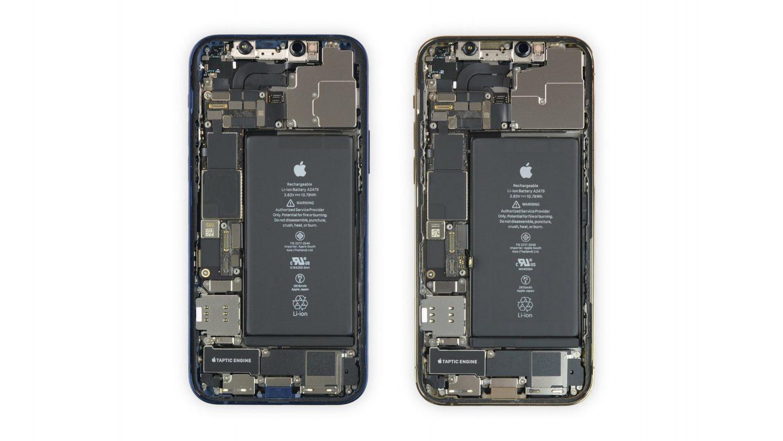 Qu'y A T Il à L'intérieur De L'iphone 12: Ici, Il Est