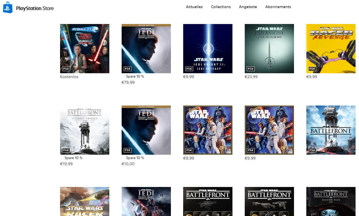 Le PlayStation Store 2020 sème la confusion