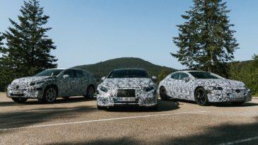 Mercedes Benz Fait Référence à Porsche En Termes De Performances électriques