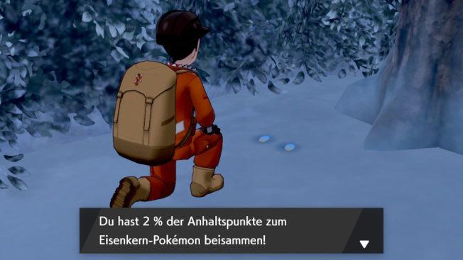 Empreintes de DLC Pokémon Sword Shield