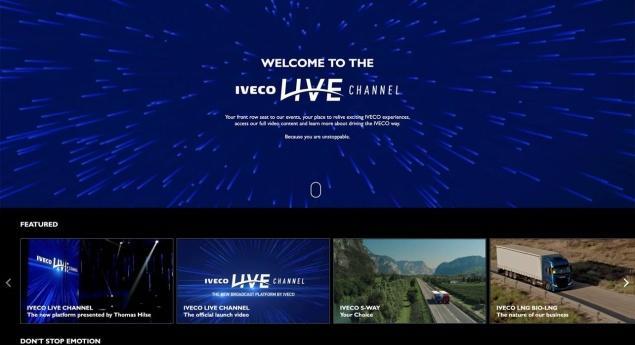 Iveco Lance Une Plateforme De Diffusion En Direct