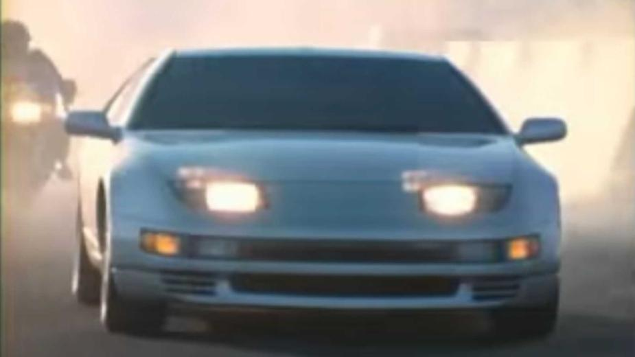 Voir La Publicité Nissan 300zx Qui A été Interdite En
