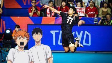 Un Joueur De L'équipe Japonaise De Volleyball Fait L'éloge De