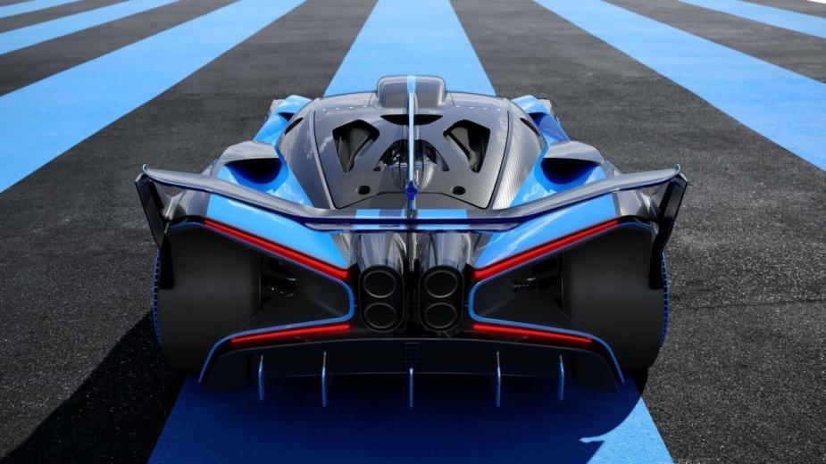 Doyen! Bugatti Bolide: 1850 Ch, 1240 Kg, Seulement 0,67 Kg