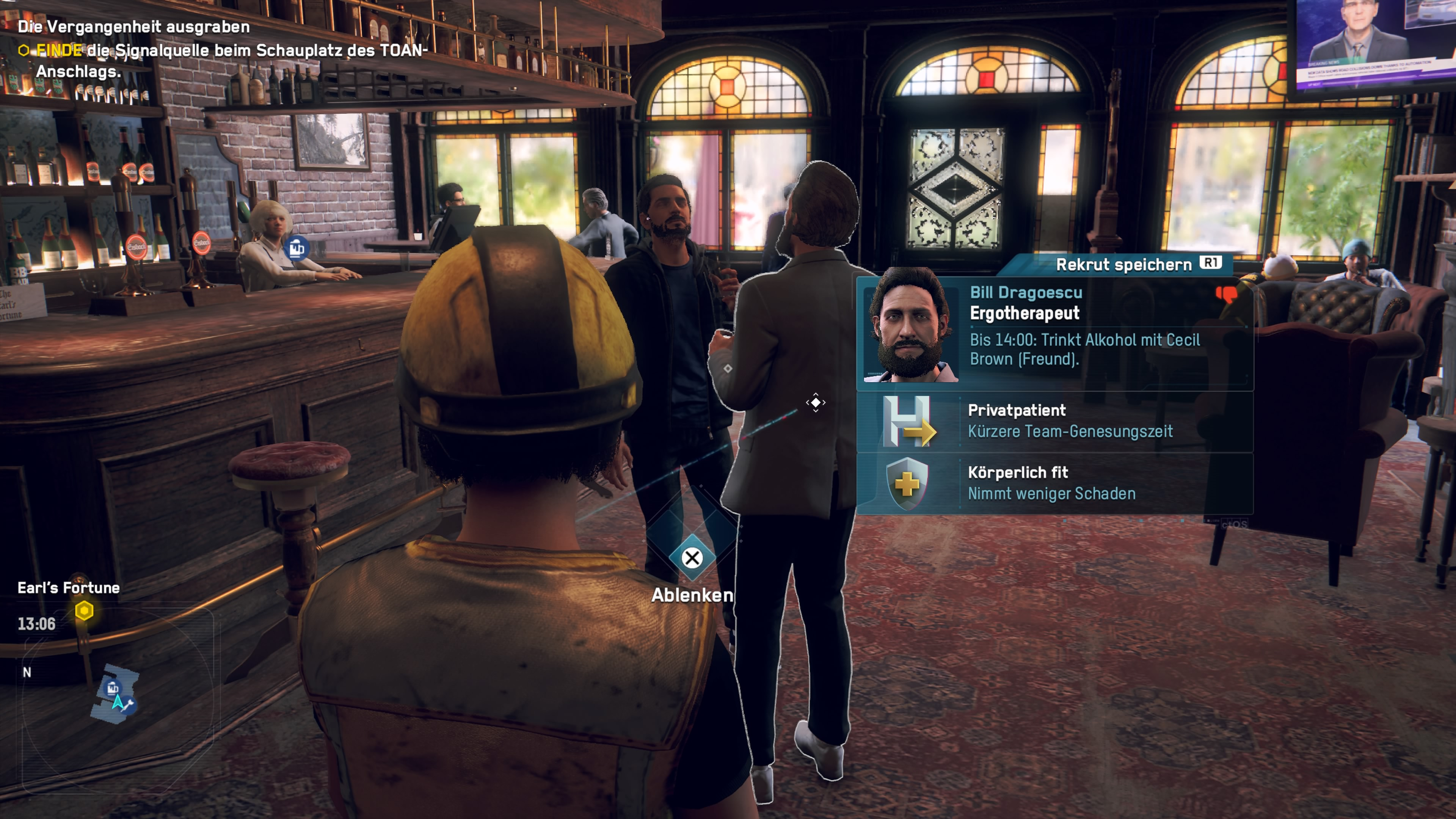 Recrutement de la Légion de Watch Dogs