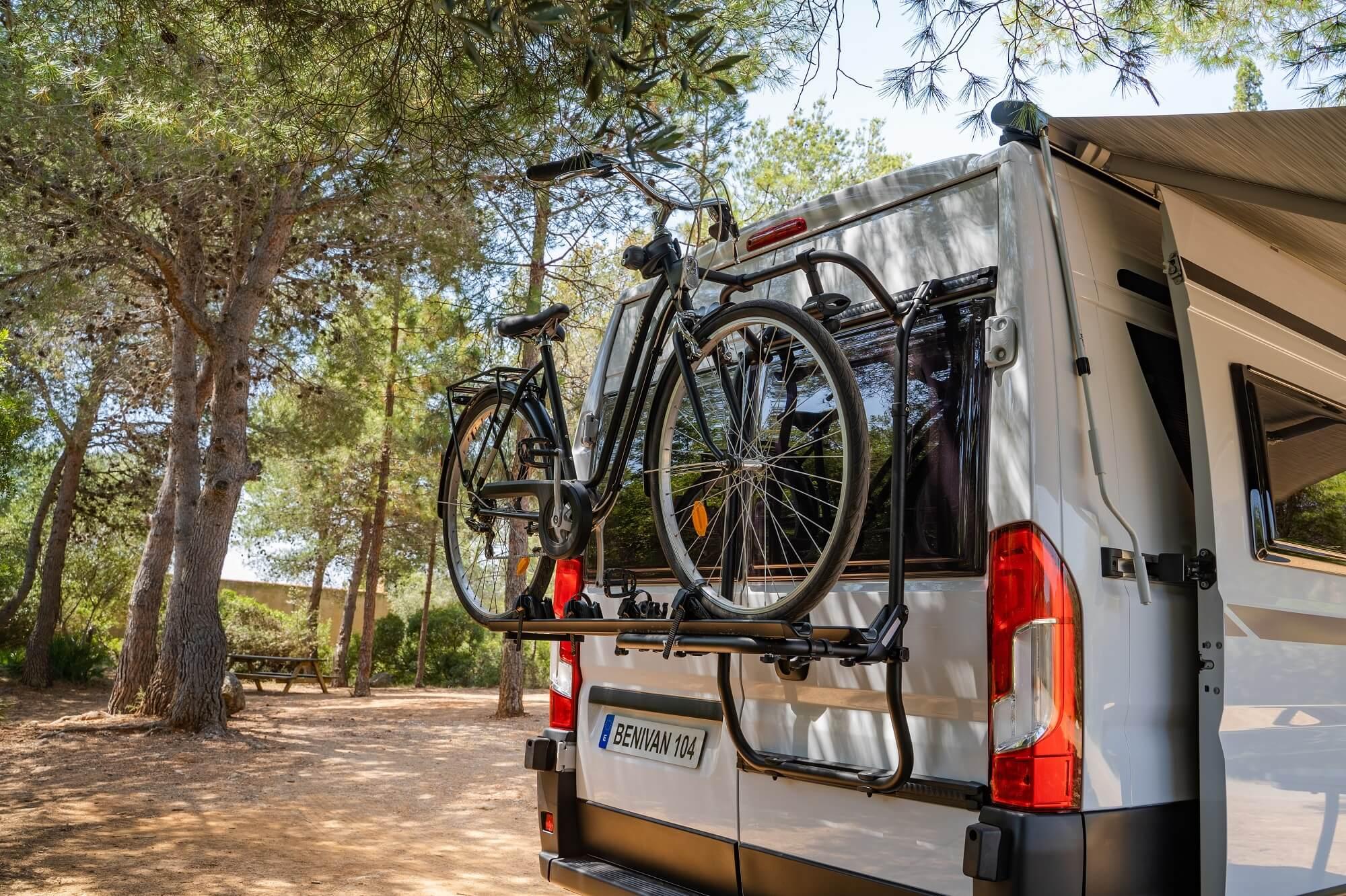 Fourgon de transport de vélos