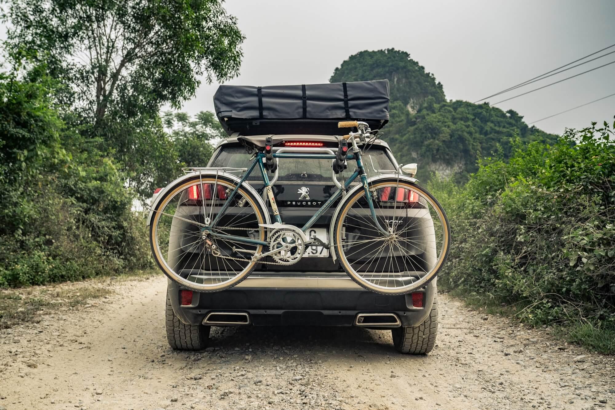 Transport de vélos Peugeot 3008