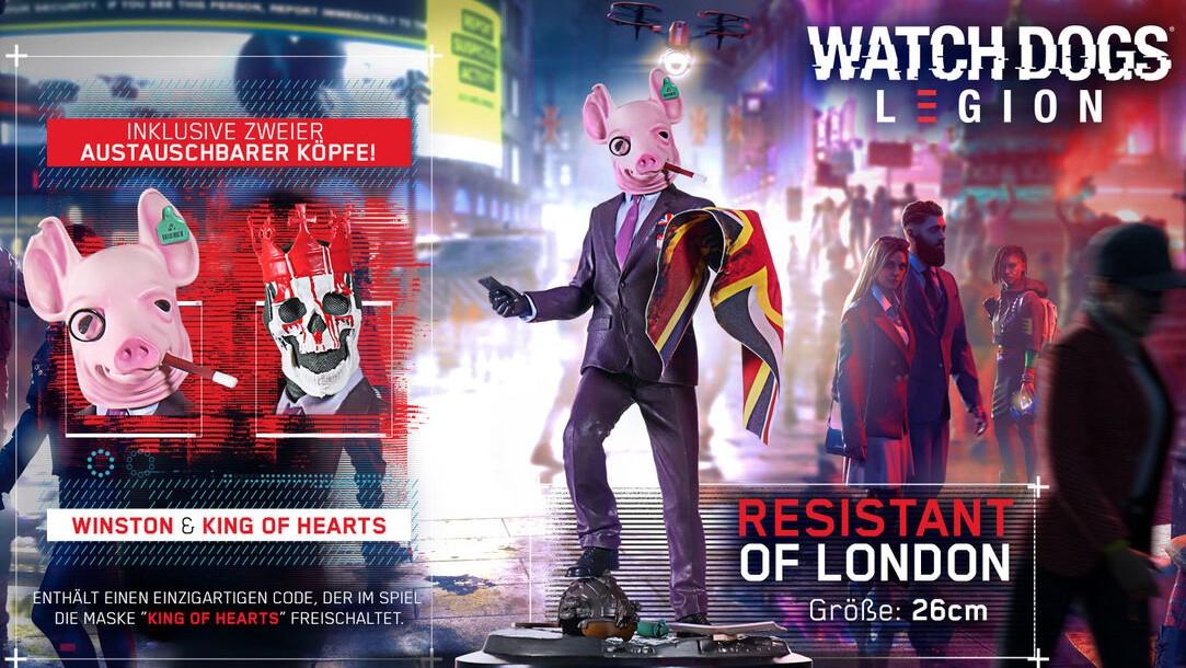 Watch Dogs Legion Résistant de Londres