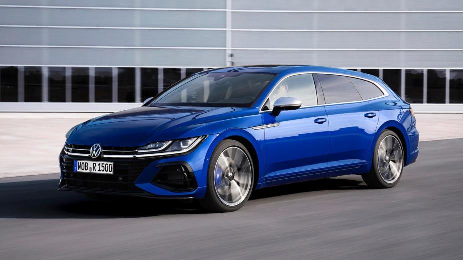 Volkswagen Arteon Et Arteon Shooting Sont Arrivés Au Portugal