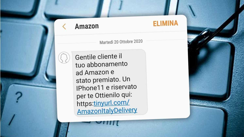 Méfiez Vous Du Sms Amazon Annual Award C'est Une Arnaque