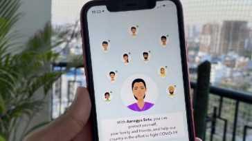 `` Application Aarogya Setu Développée Par Nic, Des Bénévoles De
