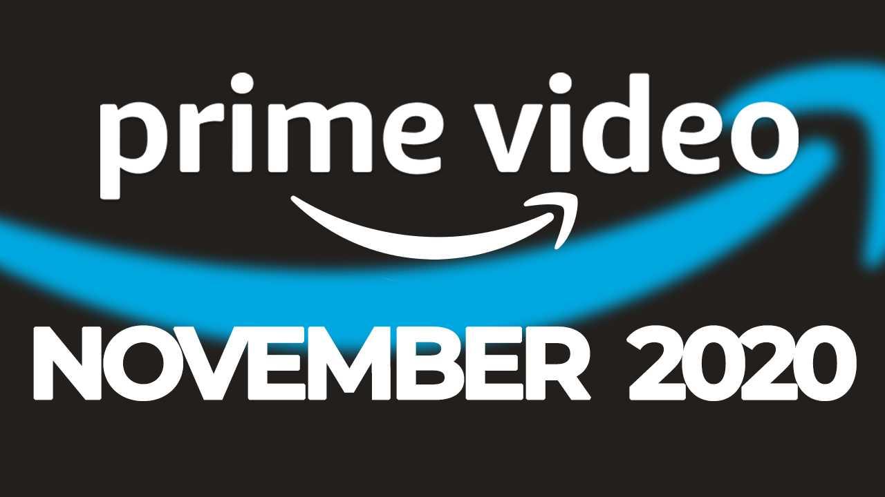 Amazon Prime Video En Novembre 2020: Les Nouvelles Séries Et