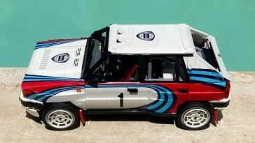 Cette Lancia Delta Integrale En Lego Doit Arriver