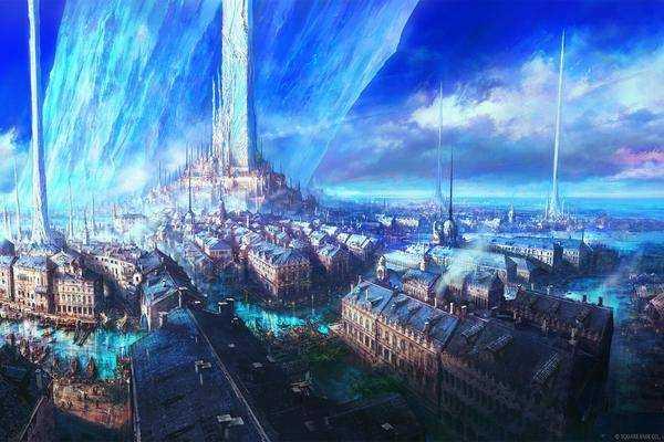 """""""final Fantasy 16"""" Le Producteur Montre Le Monde Et Les"""