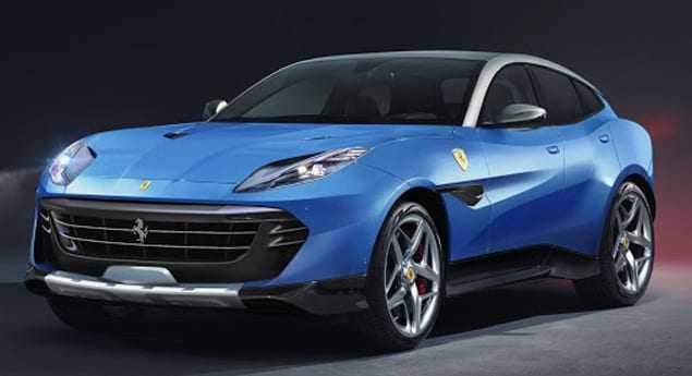 Ferrari Purosangue. Prototype Du Futur Suv Capturé à Maranello